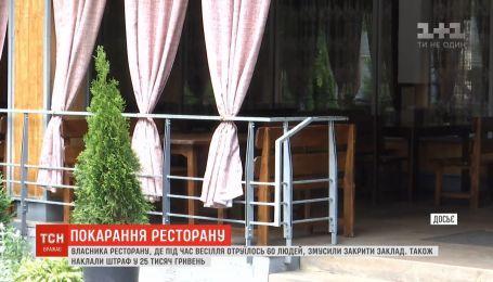 Из-за массового отравления людей на свадьбе во Львове закрыли ресторан