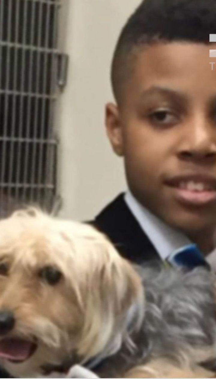 У США 12-річний хлопчик шиє собакам краватки, щоб допомогти їм швидше знайти господарів