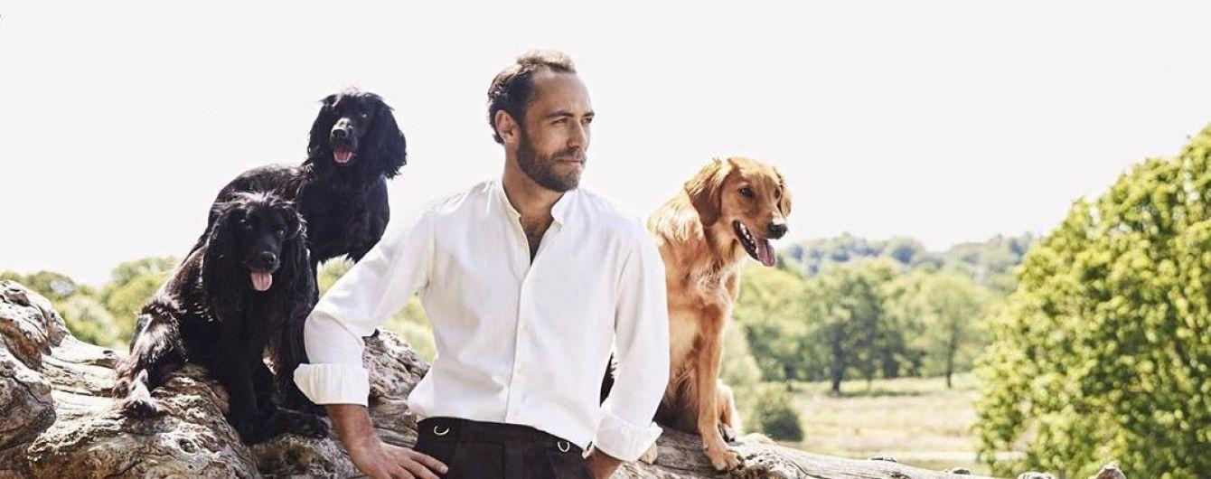 Привлекательный брат герцогини Кейт снялся в стильной фотосессии