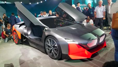 BMW представив 600-сильний гібрид, який замінить спорткар i8