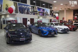 Автопарк Держбюро розслідувань поповнять 49 седанів Toyota
