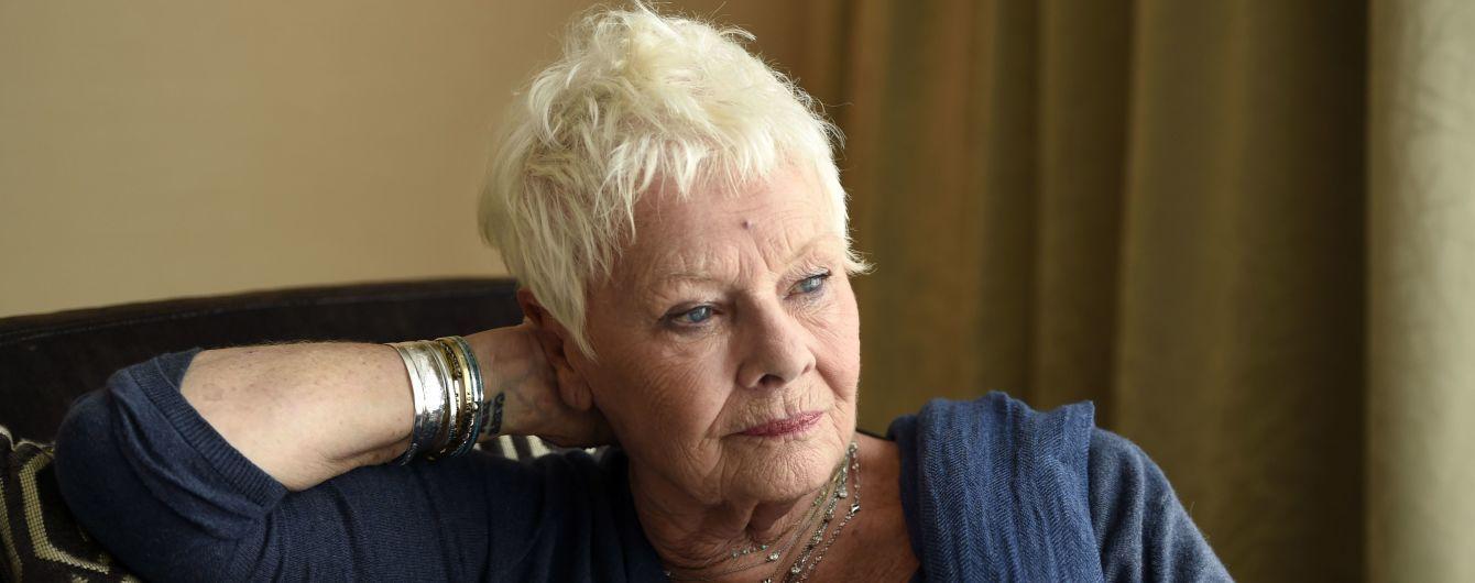 Зірка бондіани Джуді Денч заступилася за Спейсі та Вайнштена, звинувачених у секс-домаганнях