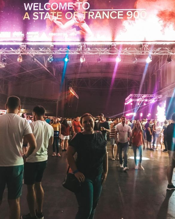 Шоу Armin Van Buuren ASOT 900 в Киеве