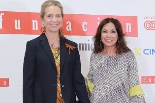 А вона все гарнішає: принцеса Олена відвідала прем'єру фільму в Мадриді