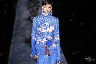 Плісування, рюші та принти в колекції Givenchy сезону осінь-зима 2019-2020