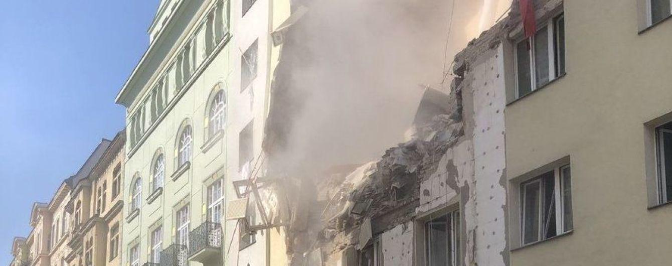 В Вене после взрыва в доме разрушило несколько этажей