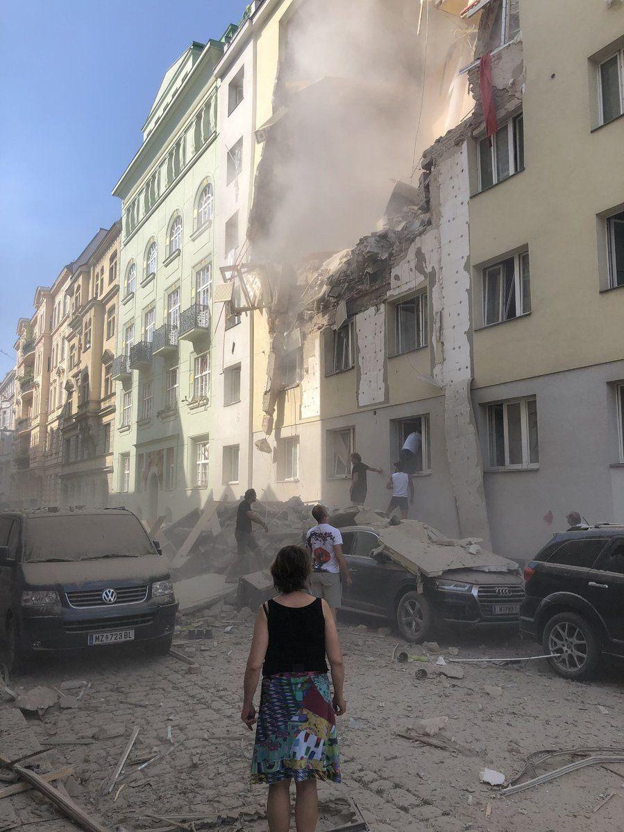 вибух у Відні