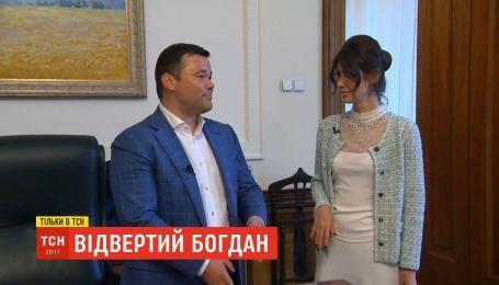 Руководитель Офиса президента Богдан откровенно о Коломойском, люстрации и личной жизни
