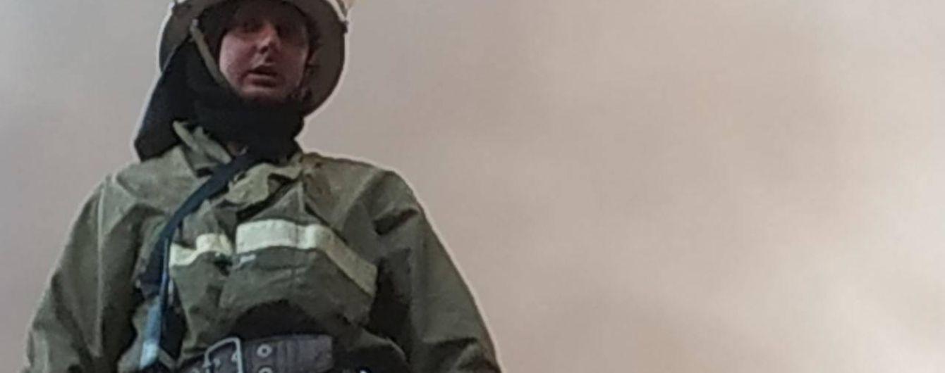 В пожаре в Донецкой области погиб мужчина