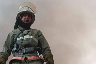 В Краматорске загорелся жилой дом, пострадали двое детей