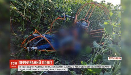 На Полтавщині впав дельтаплан у соняшникове поле, є загиблі