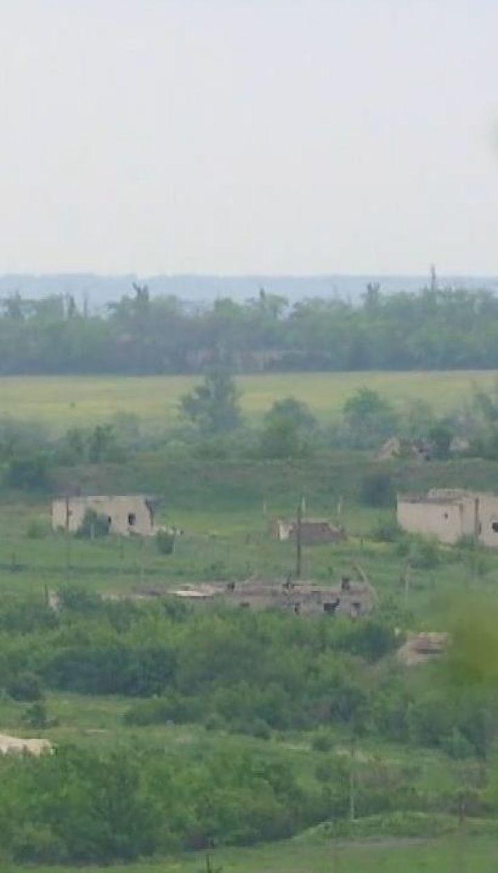 Украинская армия оставила позиции возле Станицы Луганской