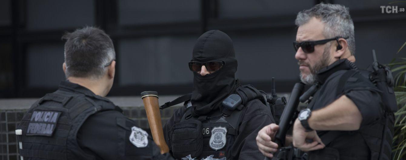 Офіцера з делегації президента Бразилії затримали з 39 кілограмами кокаїну