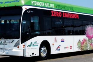 Города во Франции впервые соединили водородными автобусами