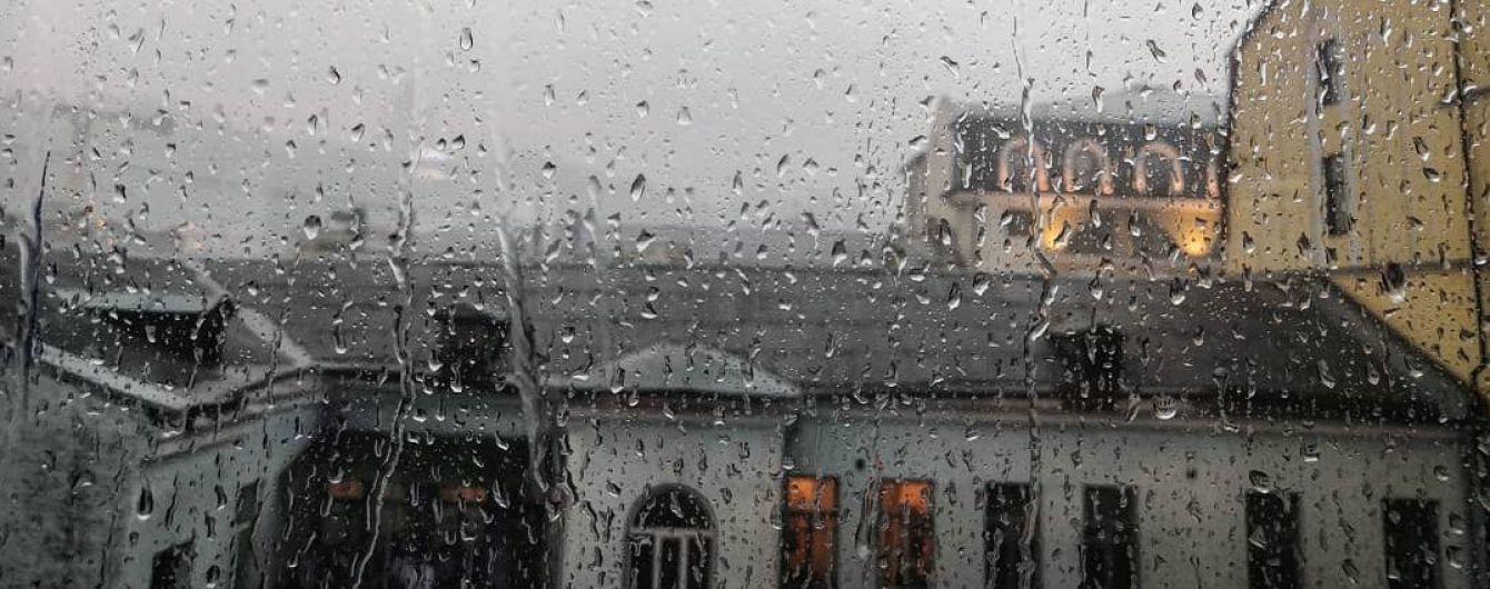 Погода на понедельник: в Украине будут дожди и грозы