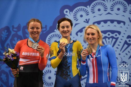 Українці завоювали ще чотири медалі на Євроіграх-2019