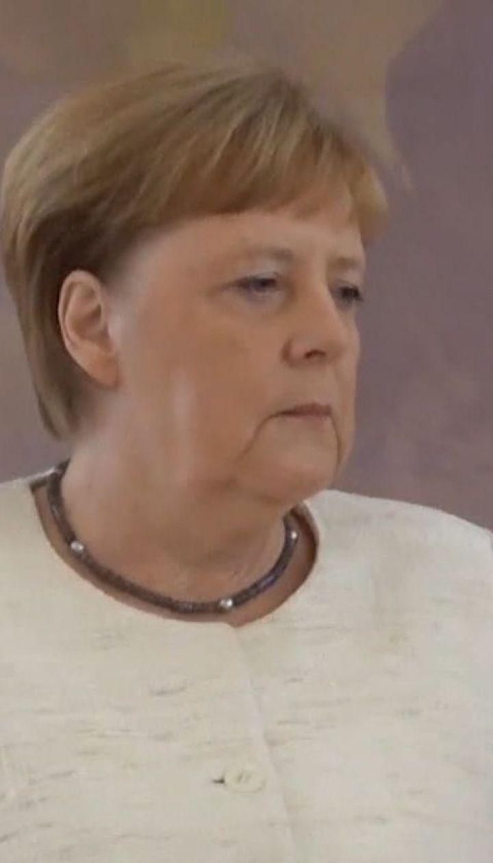 Користувачі соцмереж непокояться за здоров'я Ангели Меркель