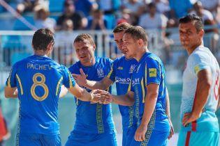 Збірна України з пляжного футболу дізналася суперника у півфіналі Європейських ігор