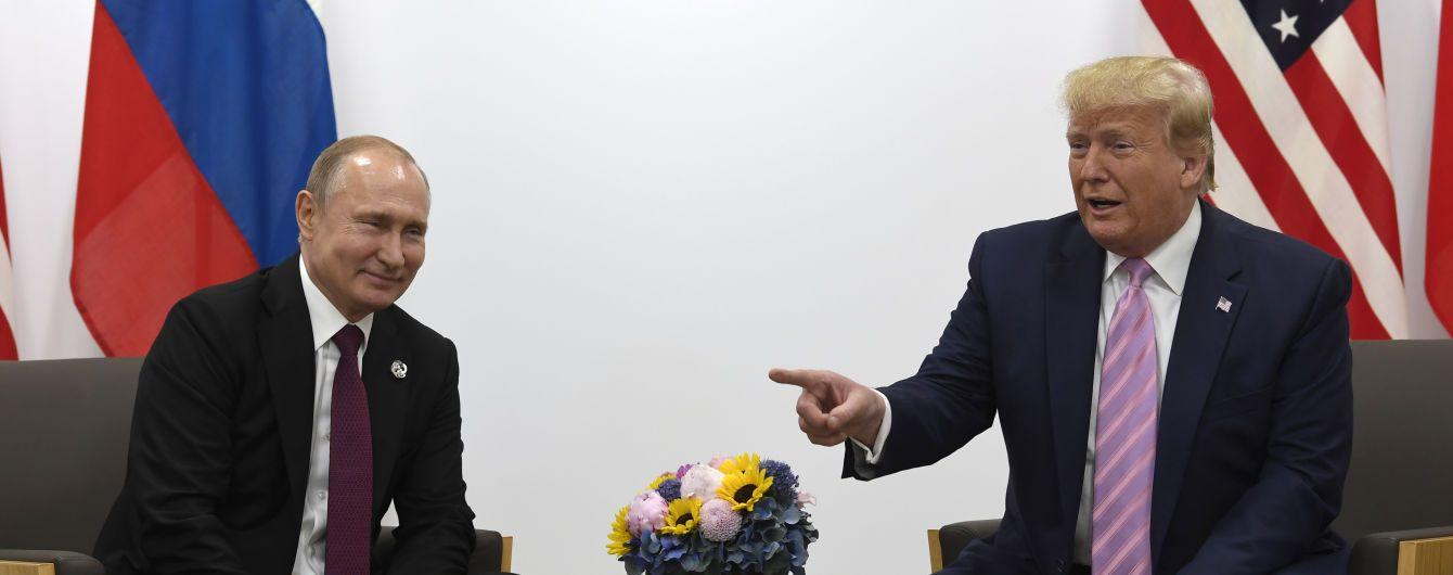 """Трамп заявил, что не обсуждал с Путиным вопрос """"украинских кораблей"""""""