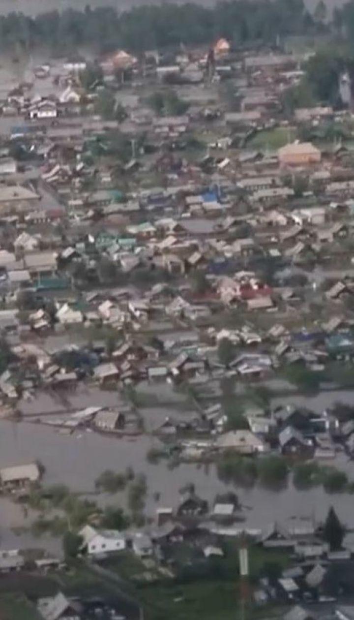 Более двух тысяч домов оказались под водой в Иркутской области
