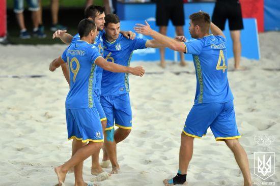 Збірна України з пляжного футболу перемогла Польщу і вийшла до суперфіналу Євроліги