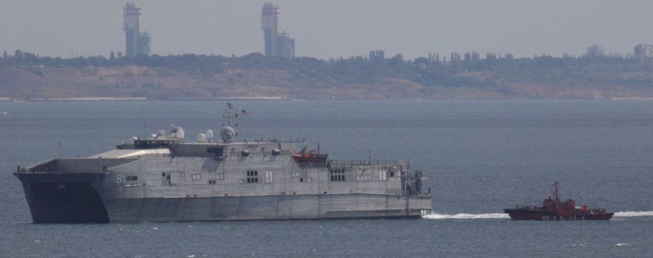 В Черное море направляется корабль ВМС США