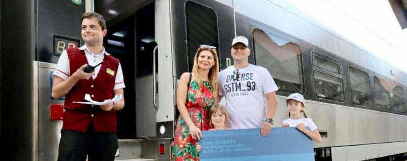 """""""Укрзализныця"""" встретила миллионного пассажира в Пшемышль и анонсировала маршруты в две столицы в Европе"""