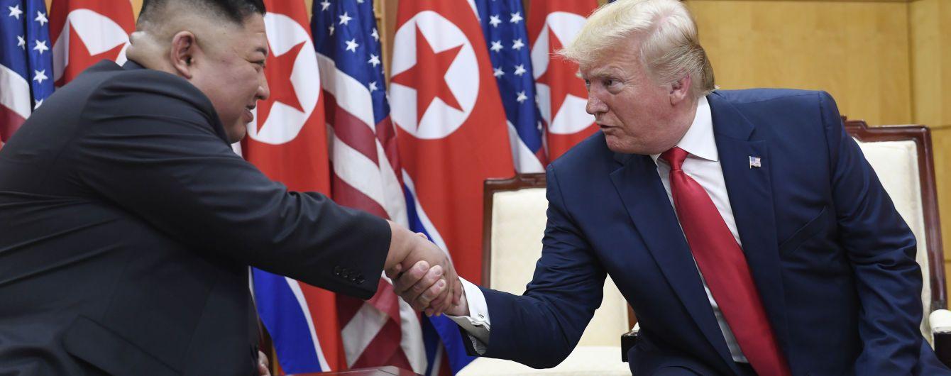 Трамп рассказал, что ему в письме написал Ким Чен Ын