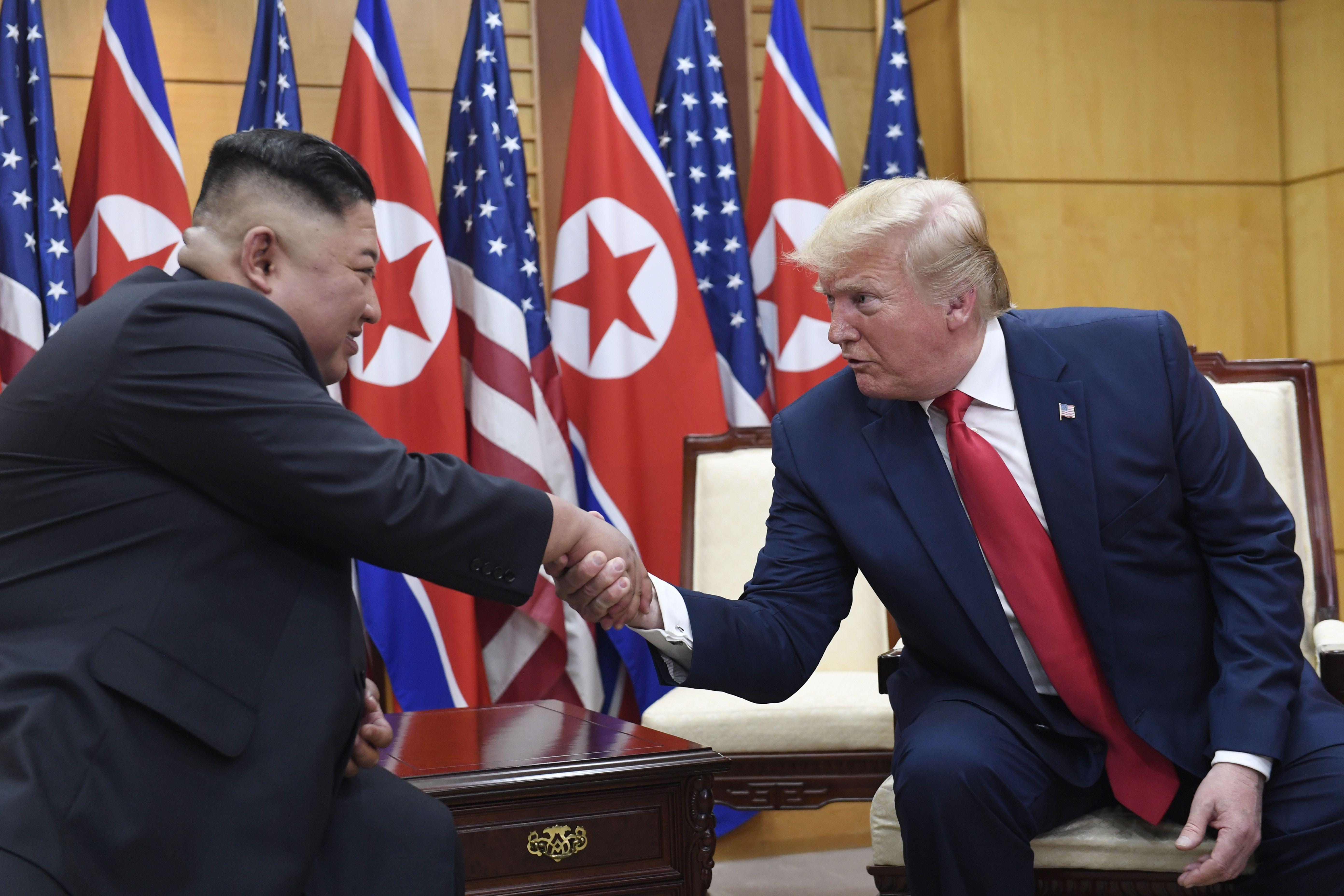 Трамп, Кім Чен Ин