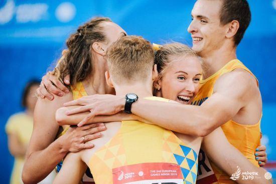 Україна виграла 51 нагороду на II Європейських іграх. Медальний залік