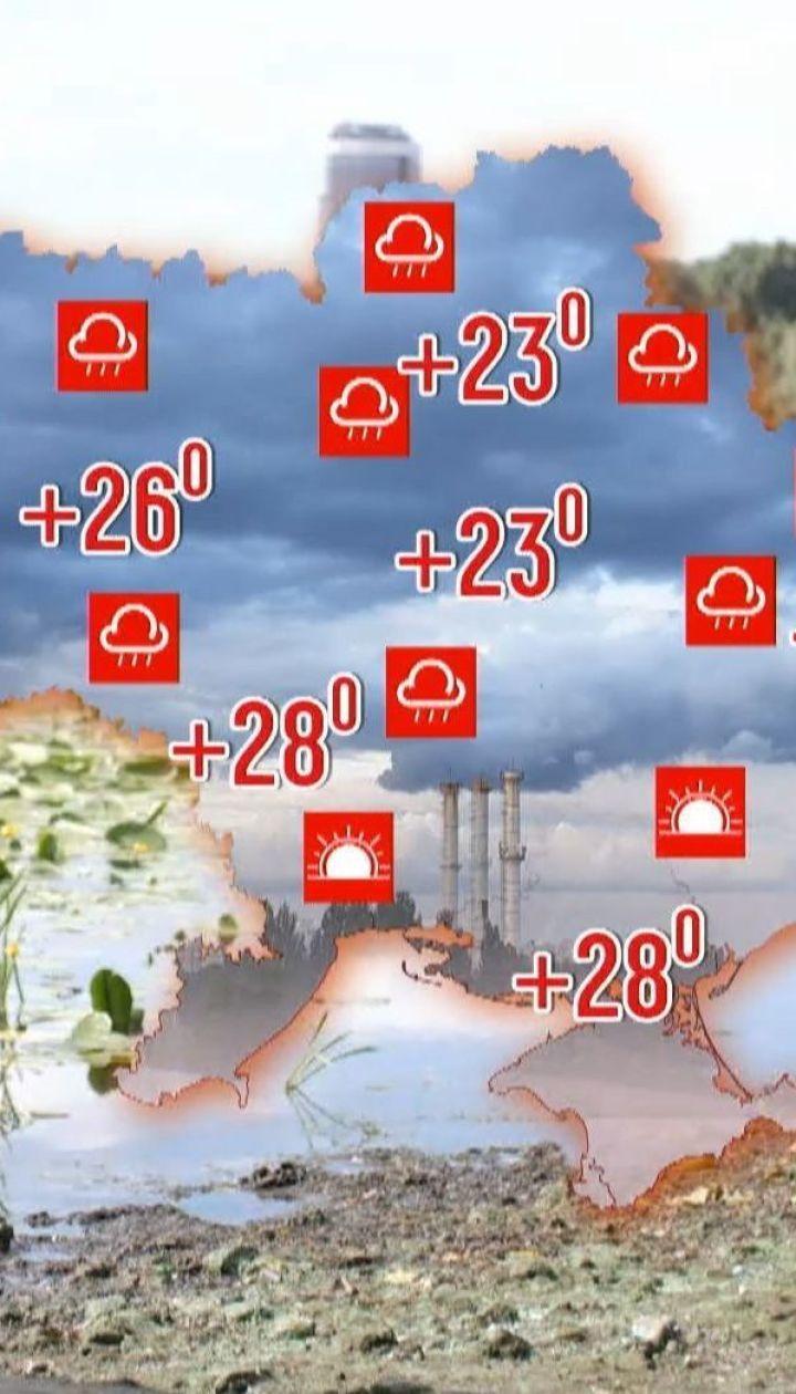 Метеозависимость: Украину ожидают обильные дожди и адская жара
