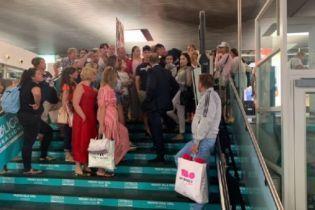 Украинские туристы застряли в аэропорту итальянской Катании
