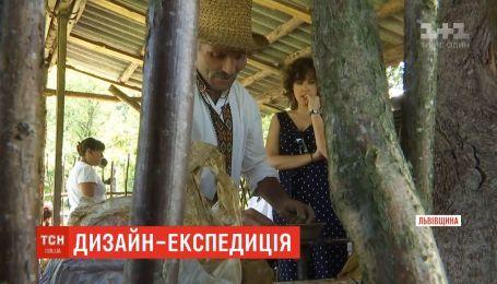 Известные мировые дизайнеры узнают украинскую культуру во время экспедиции по регионам