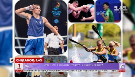 Украинская сборная завоевала 51 медаль на Европейских играх в Минске