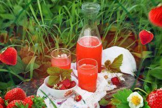 Освежающий ягодный квас