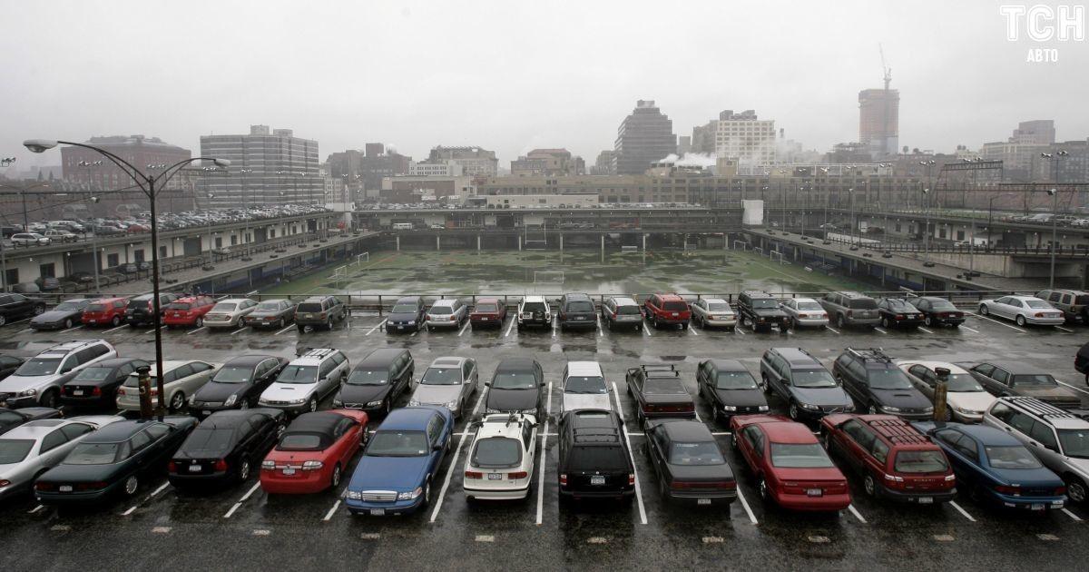 В Киеве разработали схему размещения гаражей и автостоянок