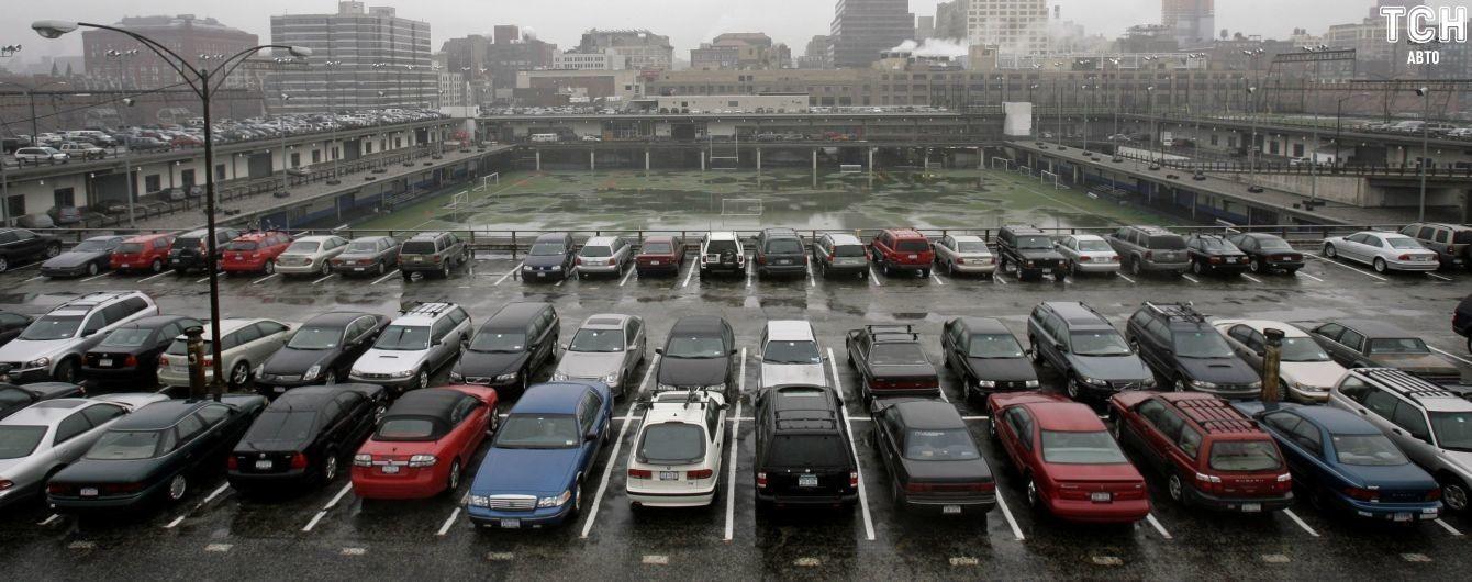 Перехватывающие паркинги в Киеве: где установлены и сколько авто могут разместиться