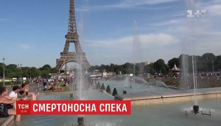 Восемь человек погибли в результате рекордной жары в Европе