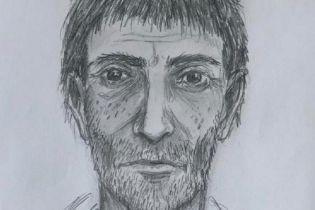 В Киеве разыскивают мужчину, который ударил женщину ножом в живот. Обнародован фоторобот