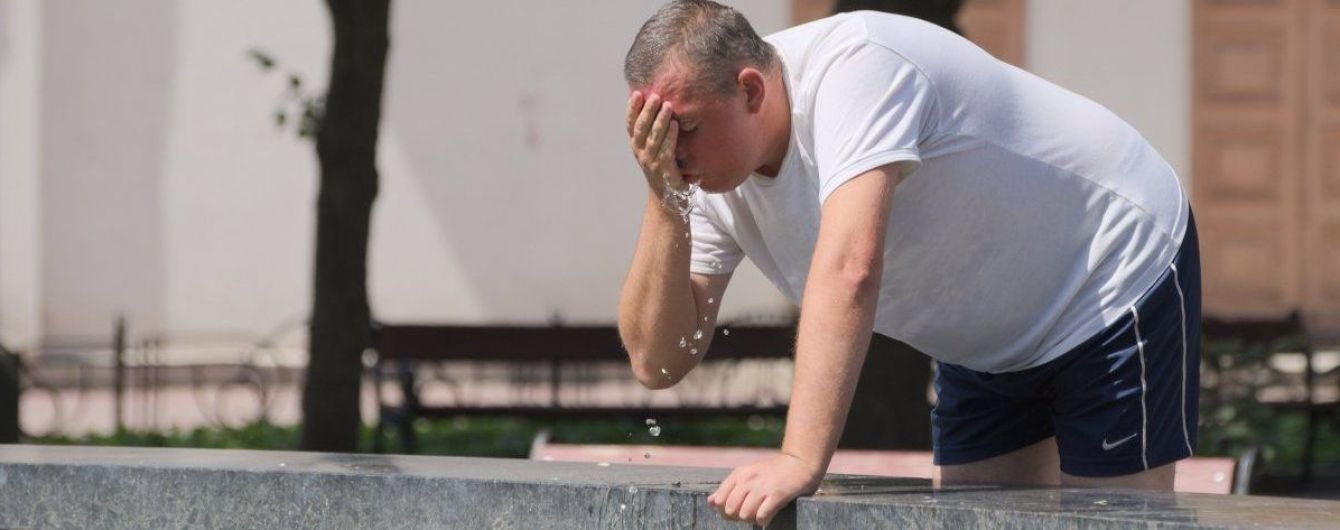 Первые два дня июля установили в Киеве новые температурные рекорды