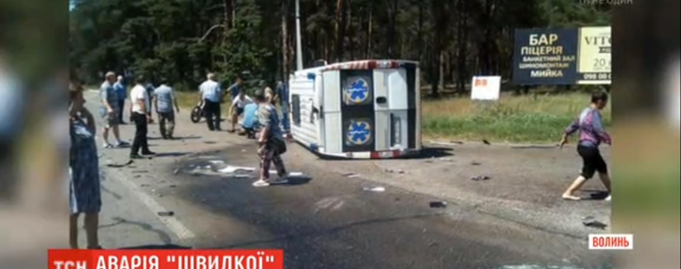 """Родственники погибших в страшной аварии """"скорой"""" и грузовика на Волыни обвиняют в ДТП патрульных"""