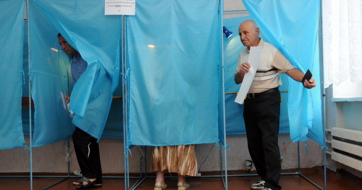 Більше 180 тис. українців змінили місце голосування на виборах