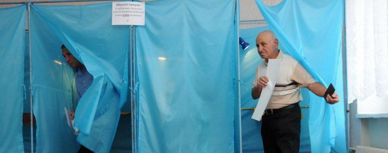 Более 180 тыс. украинцев изменили место голосования на выборах