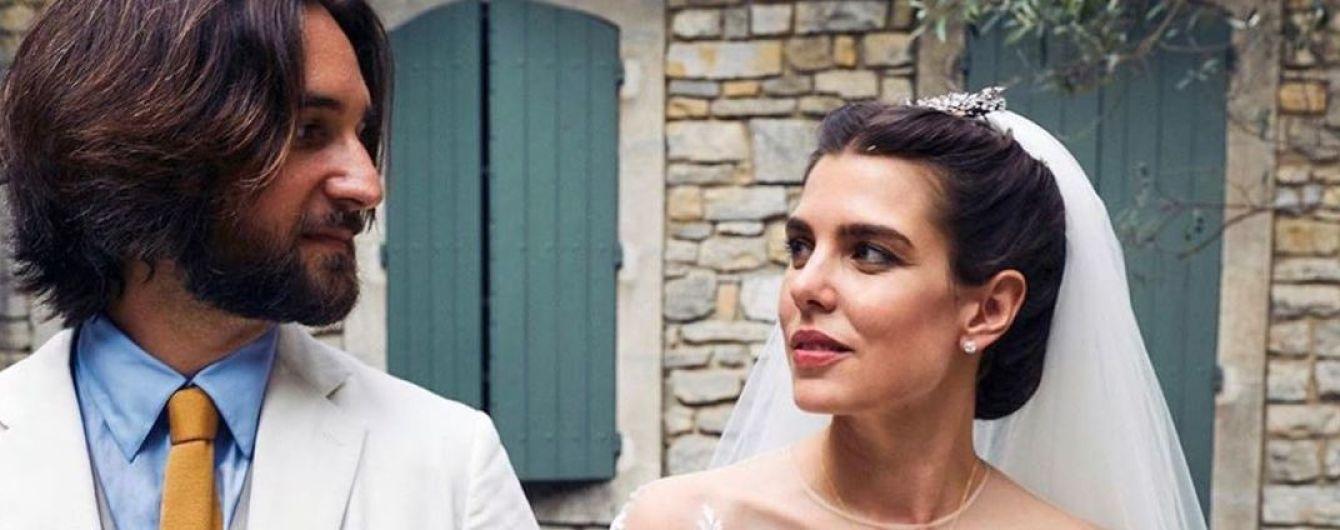Свадьба состоялась: внучка Грейс Келли - Шарлотта Казираги, показала снимки со своего тайного венчания