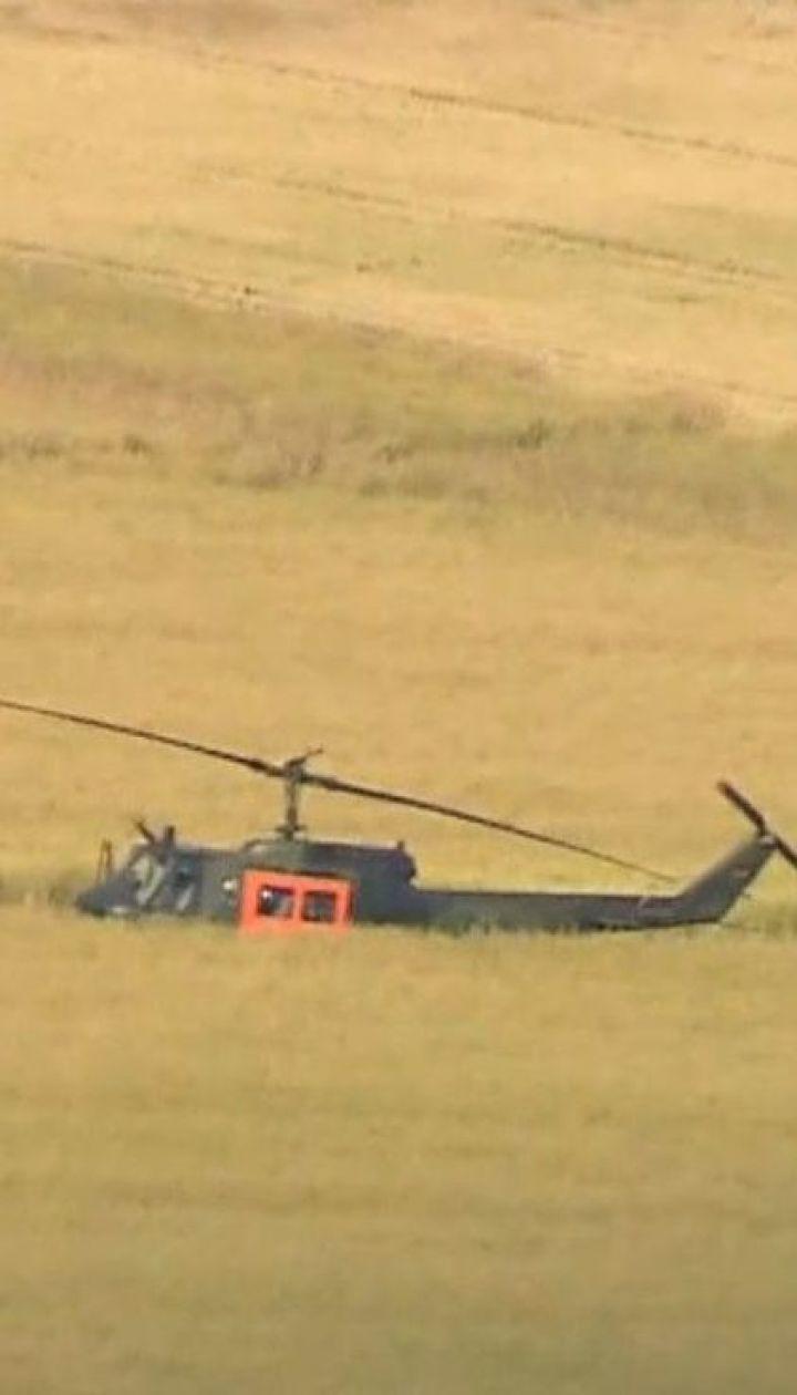 В Германии разбился военный вертолет, есть погибшие