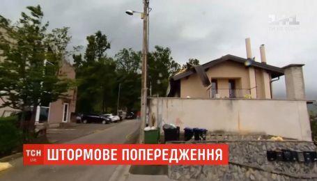 Грозы и шквальный ветер: в Украине объявлено штормовое предупреждение