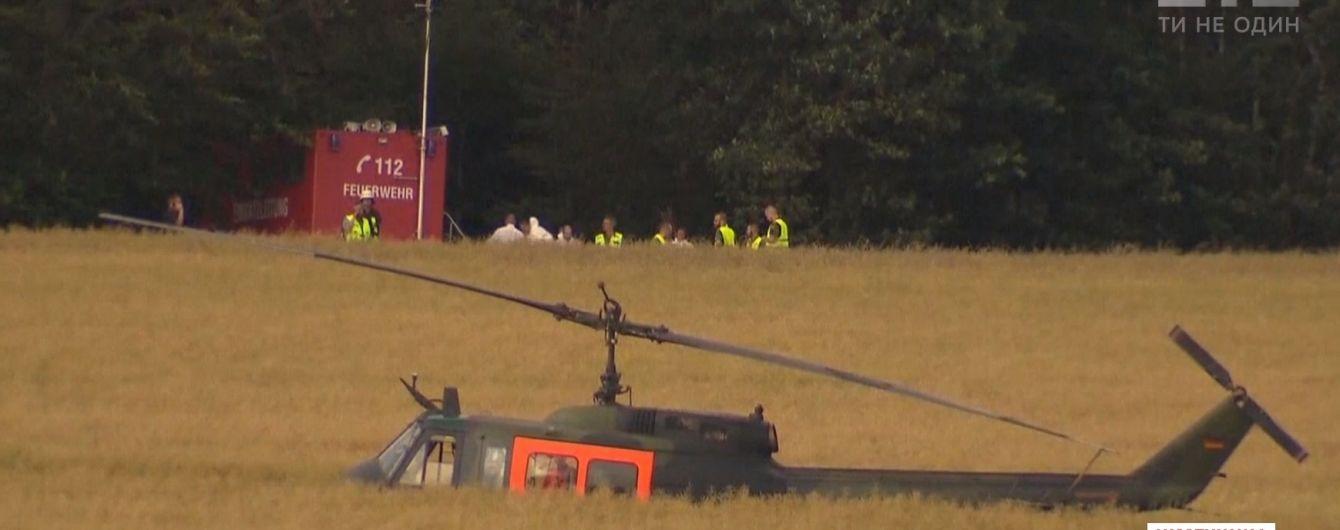 В Германии разбился военный вертолет, погибла пилотесса