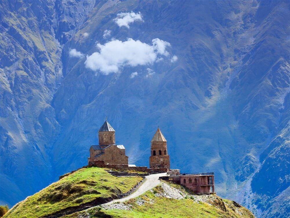 Грузия Тбилиси горы