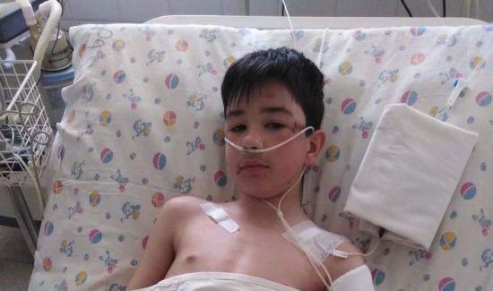 Нещасний випадок вклав Дмитра в лікарняне ліжко