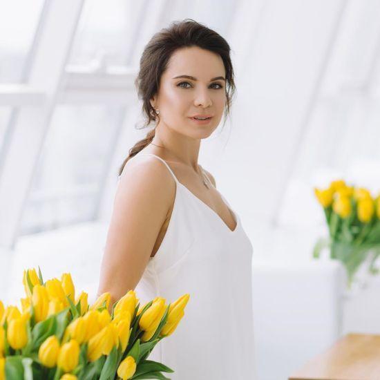 Вагітна Лілія Подкопаєва замилувала ніжним знімком з чималим животиком